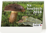 Kalendář stolní 2018 - Na houbách