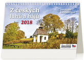 Kalendář stolní 2018 - Z českých luhů a hájů