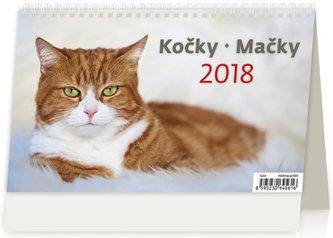 Kalendář stolní 2018 - Kočky