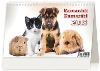 Kalendář stolní 2018 - kamarádi - neuveden