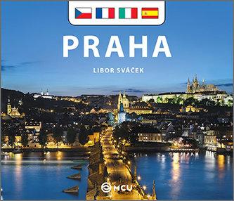 Praha - malá/česky, francouzsky, italsky, španělsky - Sváček Libor
