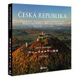 Česká republika letecky - velká / vícejazyčná