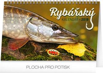 Kalendář stolní 2018 - Rybářský, 23,1 x 14,5 cm - neuveden
