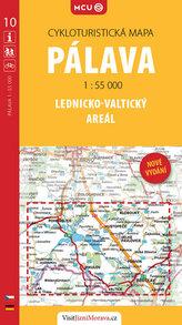 Pálava - Lednicko-valtický areál - cykloturistická mapa č. 10 /1:55 000