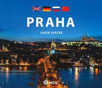 Praha - malá /anglicky, čínsky, německy, rusky - Kubík Viktor