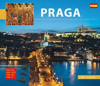 Praha - malá/španělsky - Sváček Libor