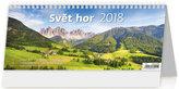 Kalendář stolní 2018 - Svět hor