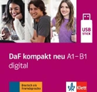 DaF Kompakt neu A1-B1 – Digital USB