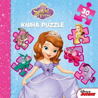Sofie První - Kníha puzzle 30 dílků