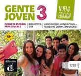 Gente Joven 3 Nueva (A2.2-B1.1) – Biblioteca USB