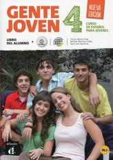Gente Joven 4 Nueva (B1.2-B2.1) – Libro del alum. + CD