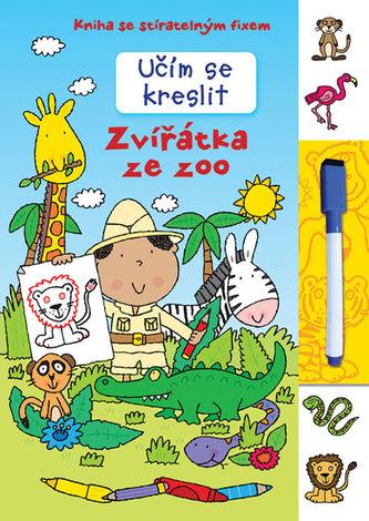 Učím se kreslit - Zvířátka ze zoo - neuveden