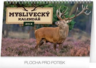 Kalendář stolní 2018 - Myslivecký, 23,1 x 14,5 cm - neuveden