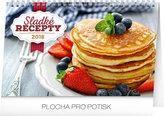 Kalendář stolní 2018 - Sladké recepty, 23,1 x 14,5 cm