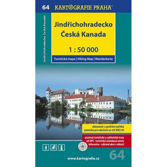 1: 50T (64)-Jindřichohradecko,Česká Kanada (turistická mapa) - neuveden