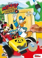 Mickey a závod - omalovánka
