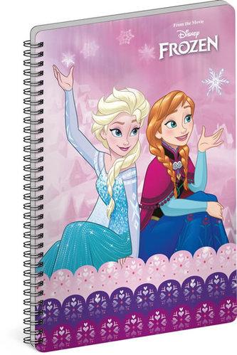 Blok - Frozen – Ledové království Joy, nelinkovaný, spirálový, A5 - neuveden