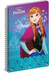 Blok - Frozen – Ledové království Anna, nelinkovaný, A4