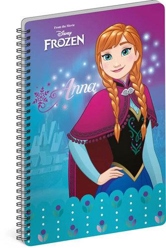 Blok - Frozen – Ledové království Anna, nelinkovaný, A4 - neuveden