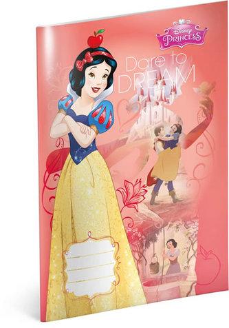 Sešit - Princezny – Sněhurka, linkovaný, 40 listů, A4 - neuveden