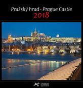 Kalendář pohlednicový 2018 - Pražský hrad