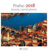 Kalendář pohlednicový 2018 - Praha/letecky