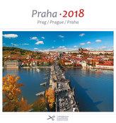 Kalendář pohlednicový 2018 - Praha