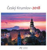 Kalendář pohlednicový 2018 - Český Krumlov/červánek