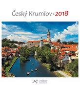 Kalendář pohlednicový 2018 - Český Krumlov/řeka