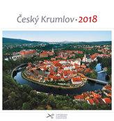 Kalendář pohlednicový 2018 - Český Krumlov/letecký