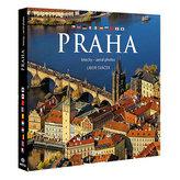 Praha letecky - velká / vícejazyčná
