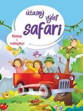 Úžasný výlet safari - Nalep i nálepky!