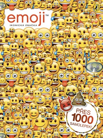 Emoji oficiální kniha samolepek - Kolektiv Autorů