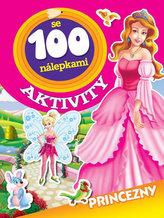 Princezny - Aktivity se 100 nálepkami
