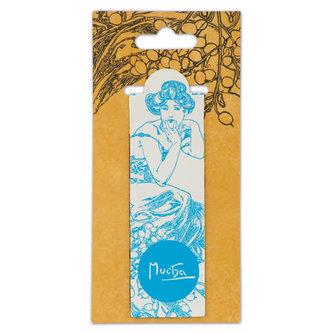 Magnetická záložka Alfons Mucha – Topaz, Fresh Collection - neuveden
