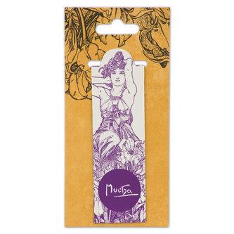 Magnetická záložka Alfons Mucha – Amethyst, Fresh Collection - neuveden