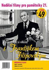 Nedělní filmy pro pamětníky 21. - František Filipovský - 2 DVD pošetka