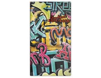 Diář 2017/2018 - kapesní/Student/Graffiti - neuveden