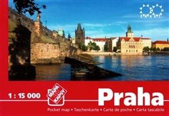 Praha 1:15 000. Mapa do kapsy