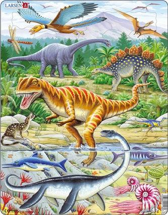 Puzzle MAXI - Dinosauři/35 dílků - neuveden