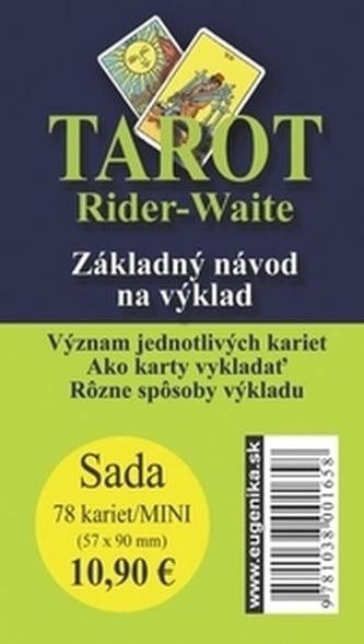 Karty - Tarot Rider Waite-mini (karty + brožúrka) - A.E. Waite