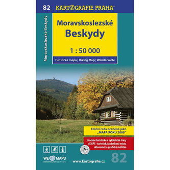 1: 50T (82)-Moravskoslezské Beskydy (turistická mapa) - kolektiv