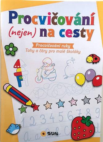 Procvičování ruky - Tahy a čáry pro malé školáky
