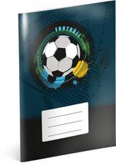 Sešit - Fotbal, nelinkovaný, 40 listů, A5
