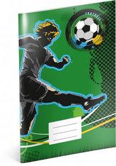 Sešit - Fotbal, linkovaný, 40 listů, A4