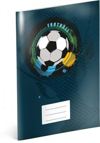 Sešit - Fotbal, čtverečkový, 40 listů, A4
