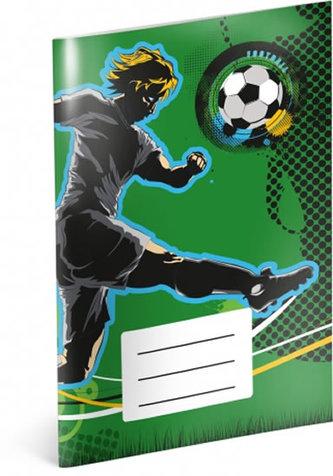 Notýsek - Fotbal, linkovaný, 20 listů, A6
