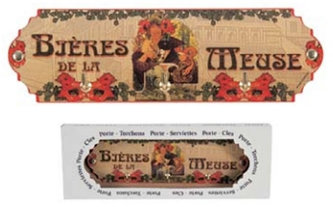 Věšák Alfons Mucha – Bieres