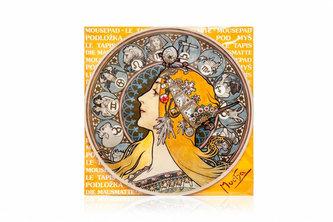 Podložka pod myš Alfons Mucha - Zodiak - neuveden