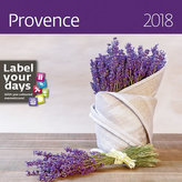 Kalendář nástěnný 2018 - Provence 300x300